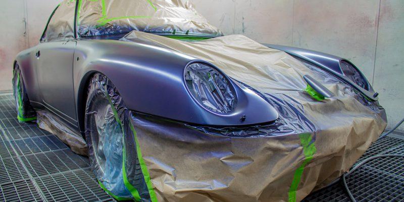 איך עושים תיקון צבע לרכב?